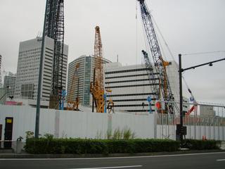 ビル工事の写真